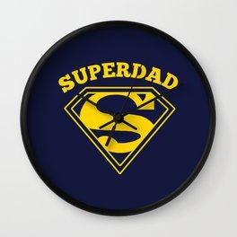 Superdad | Superhero Dad Gift Wall Clock