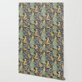 """William Morris """"Forest"""" 1. Wallpaper"""