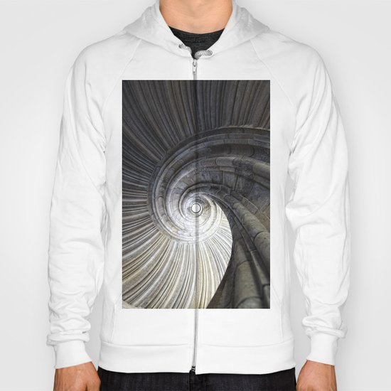 Sand stone spiral staircase Hoody
