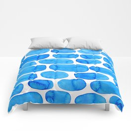 Watercolour abstract Comforters