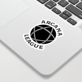 PENTAGRAM LOGO (BLACK) Sticker