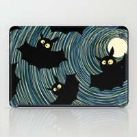 bats iPad Cases featuring Bats by Rceeh