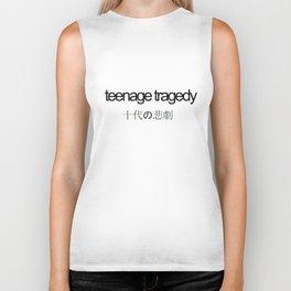 Teenage tragedy Biker Tank