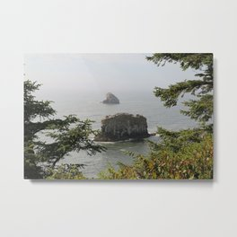 Beautiful View Over The Sea Metal Print
