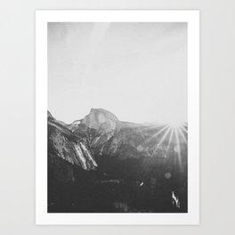 YOSEMITE / California Art Print