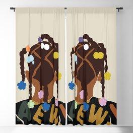 Black Girl Magic No. 2 Blackout Curtain