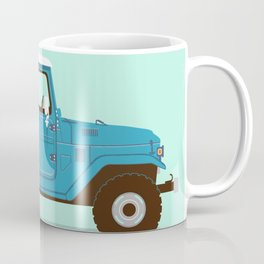 Toyota Landcruiser FJ40 Illustration Coffee Mug