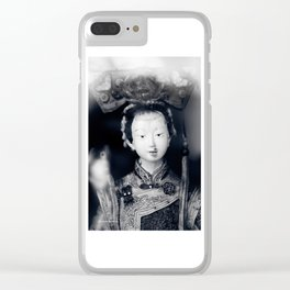 The chinese puppet kid Clear iPhone Case
