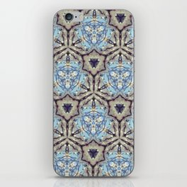 Crystallize (Blue) iPhone Skin