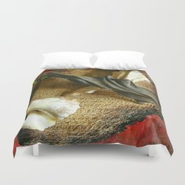 Expo sculptures Duvet Cover