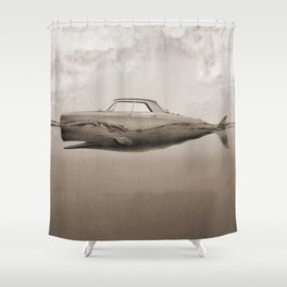 the Buick of the sea Shower Curtain