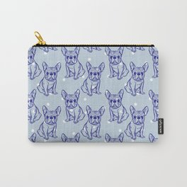 Fashionable French bulldog. Carry-All Pouch