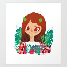 Something Floral Art Print