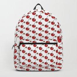 Glitter Cherry Bomb Pattern Backpack