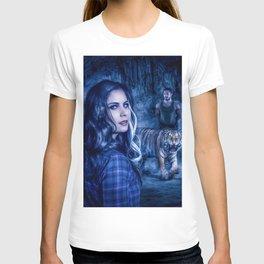 Charumati - the Purple-Eyed Werewolf T-shirt