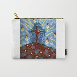Dancing Crucified Love and the Holy Spirit Carry-All Pouch