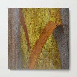 Tree Bark Abstract # 13 Metal Print