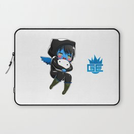 Fuzzy Chibi Luc (Expression 1)  Laptop Sleeve