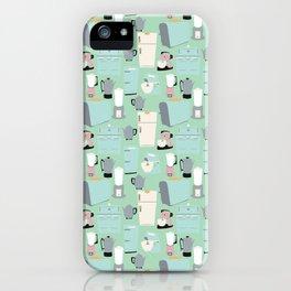 Retro Kitchen iPhone Case