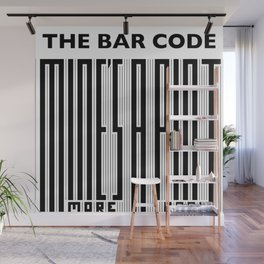 The Bar Code - Mine's a pint Wall Mural