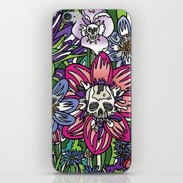 """""""Skull Garden III"""" by Schmiedlin 2013 iPhone Skin"""