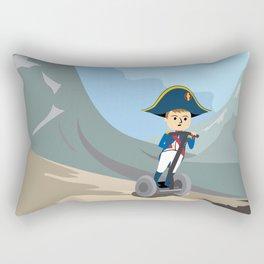 Napoleon Segways the Alps Rectangular Pillow