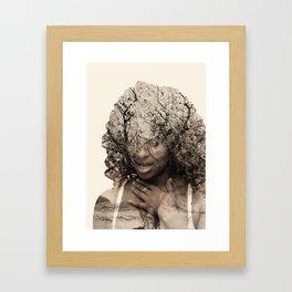 Integrated photos Framed Art Print