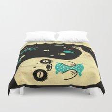 Panda Seal Duvet Cover