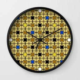 Persian Blocks Desert Wall Clock