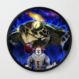 My Brother My Enemy Wall Clock