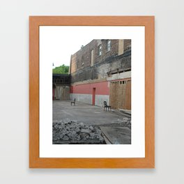 abandoned tango Framed Art Print
