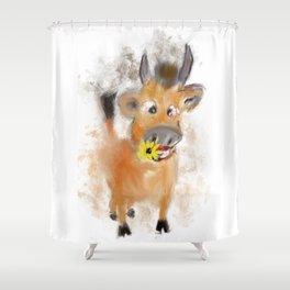 little bull Shower Curtain