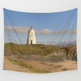 Twr Bach Lighthouse Wall Tapestry