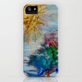 Arboles y Sol iPhone Case