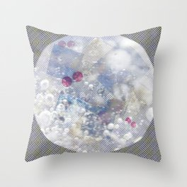 Water Bubble Throw Pillow