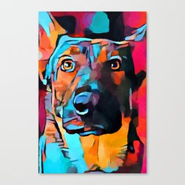 German Shepherd 7 Canvas Print