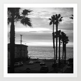 Classic Redondo Beach Art Print