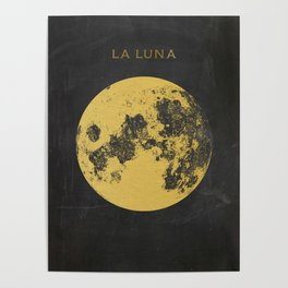 Gold Moon Poster