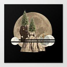 Mr & Mrs Christmas Canvas Print