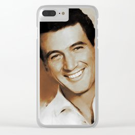 Rock Hudson, Actor Clear iPhone Case