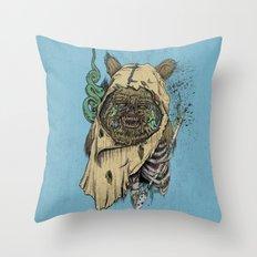 Zombwok Throw Pillow