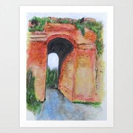 Arco Felice, Revisited Art Print