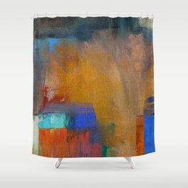 People in India Shower Curtain