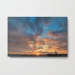 Derry Sunset Metal Print
