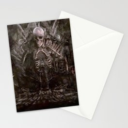 The Human Bone Organ Pipe - The Goonies Stationery Cards