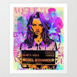 Bad Girl Kate Art Print