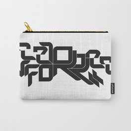 Vector force typography Carry-All Pouch