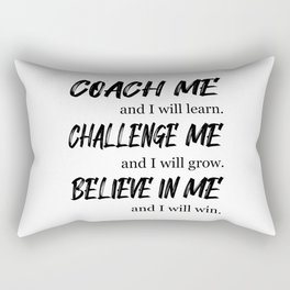 Team Work Spirit Job Awesome Team Player Gift Rectangular Pillow