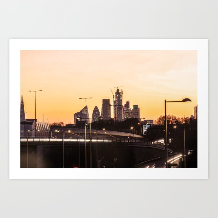 Londn City UK Photography ArtWork Art Print