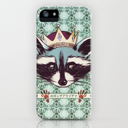 King Racoon · Ver.2 iPhone Case